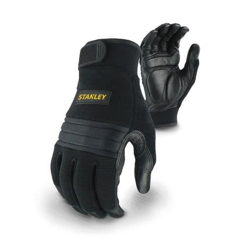 Stanley Vibration Performance Glove Gloves Black